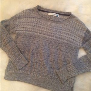Anthropologie Sparrow Gray Sweater